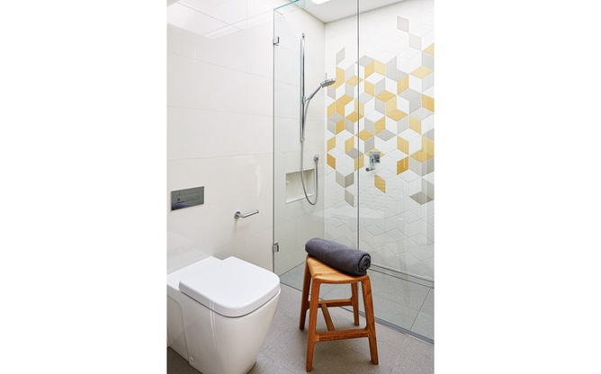 Brunswick East en suite shower