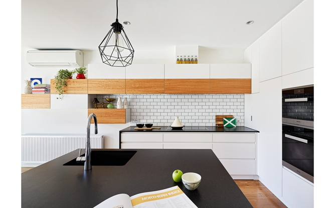 Brunswick East kitchen island