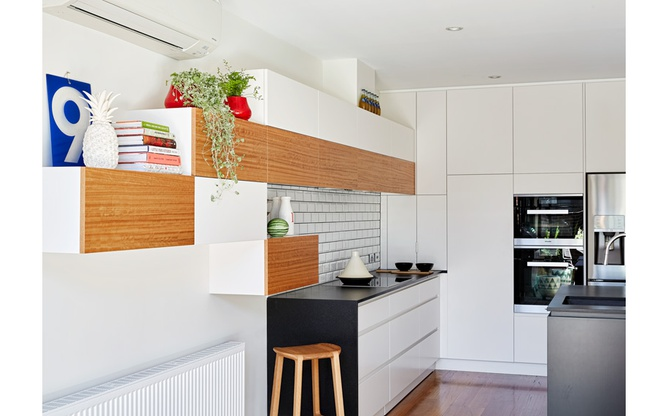 Brunswick East kitchen shelving