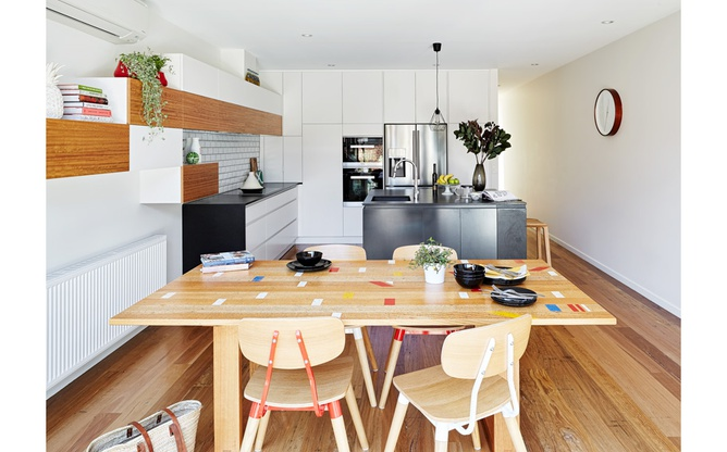 Brunswick East kitchen dining table