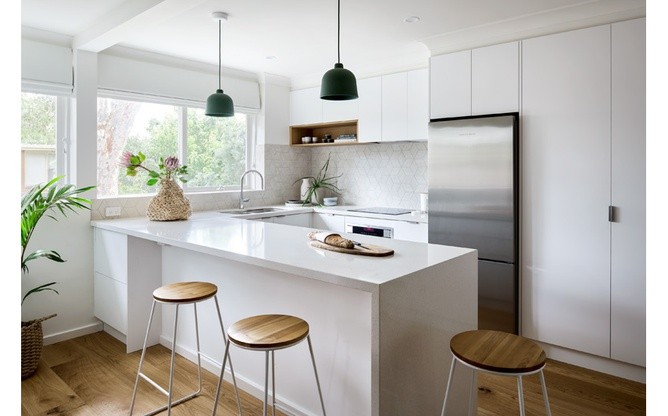 Elsternwick kitchen overview
