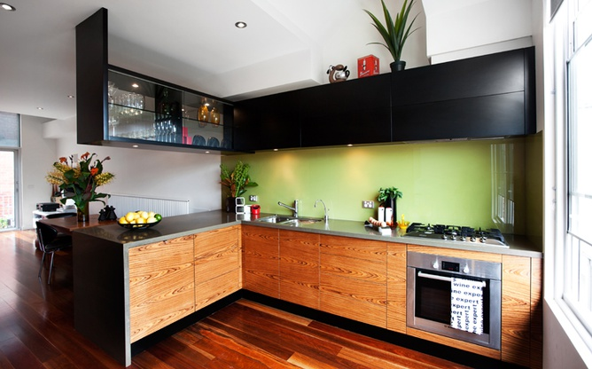 North Melbourne kitchen overview