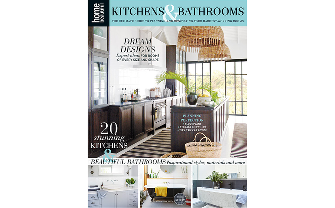 2018 Home Beautiful Kitchen and Bathroom Renovation Guide cover