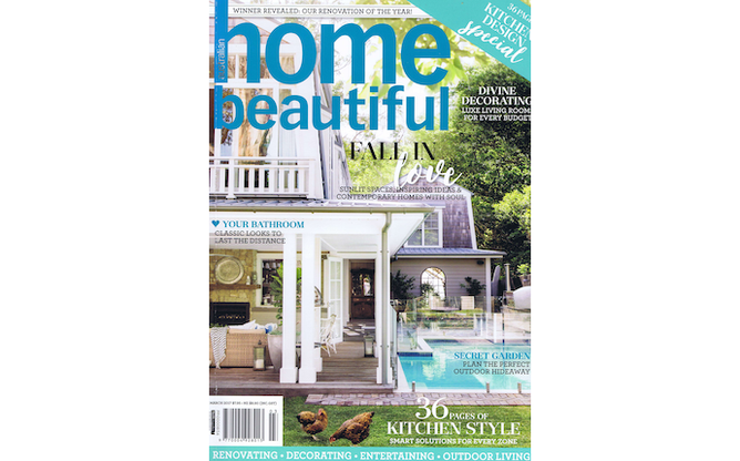 2017 Home Beautiful March cover