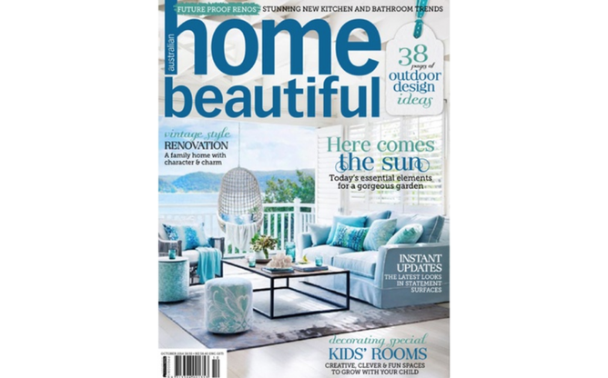 Home Beautiful October 2014 cover