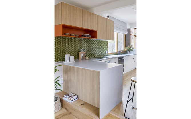 St Kilda East kitchen overview 2