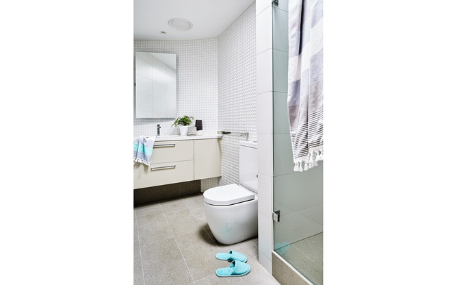 Toorak home bathroom overview