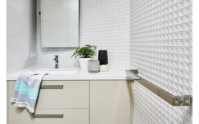 Toorak home bathroom detail